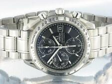 Omega Speedmaster Mens Chronograph Automatic Watch Black with original Omega Box