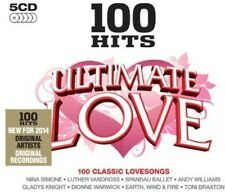Various Artists - 100 Hits: Ultimate Love / Various [New CD] UK - Import