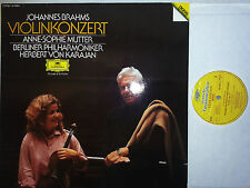 Brahms Violinkonzert Violin Concerto Mutter Karajan LP DG Digital 405886 NM