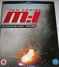 Mission: Impossible Extreme Blu-ray Trilogy (New and Sealed)