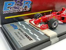 BBR 1/43 2002 FERRARI F2002 PRESS VERSION MICHAEL SCHUMACHER FULL LIVERY BG231