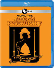 Alice's Restaurant 50th Anniversary Concert (2016, REGION A Blu-ray New)