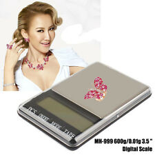 "Quality MH-999 600g/0.01g 3.5 ""Large Screen Electronic Jewelry Digital Scale bd"