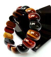 Bracelet Protection Oeil de Tigre Mixte Lithothérapie Minéral  Bijoux en Pierre