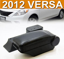 FIT FOR 2012~ NISSAN VERSA / ALMERA SEDAN BLK LEATHER ARMREST CENTRE CONSOLE BOX