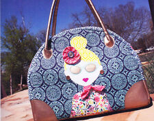 PATTERN - Kate Tote - fun applique bag PATTERN