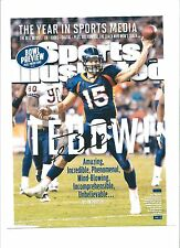 Tim Tebow Signed Autographed 8x10 photo Patriots Sports Illustrated RARE