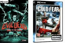 evil dead hail to the king & cold fear   new&sealed