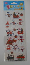 "BEAUTIFUL FUN STICKERS "" CHRISTMAS TRAIN SET "" FOR CARDS & CRAFT"