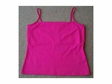 Women's Hot Pink Top with Hidden Bust Support from Oasis Size 14 BNWT