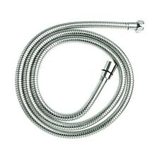 2m EPDM Chrome Stainless Steel Shower Hose, Triton Mira Aqualisa, Replacement