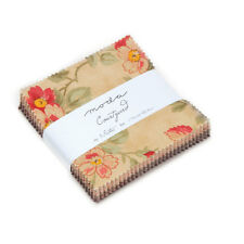 Courtyard Treat Pack 42 die cut 3.5 inch fabric squares by 3 Sisters