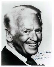 Douglas Fairbanks Jr signed 8x10 photo / autograph