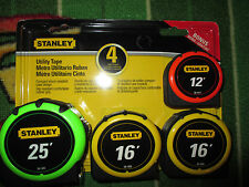 New-in-Package Stanley Utility Tape 4 Tape rules #70-153