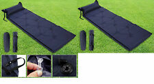 Simple self gonflage camping roll mat / pad lit gonflable sac de couchage matelas