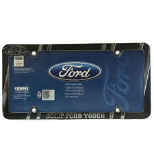New Built FORD Tough Heavy Duty Chrome Metal Car Truck Suv License Plate Frame