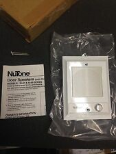 *NEW* Nutone IS-69WH WHITE Intercom Door Speaker +lighted pushbutton is67 is54