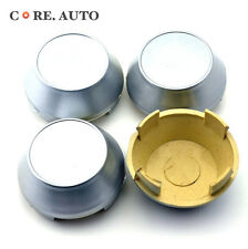 60mm X 4 Silver Car Wheel Center Caps Wheel Center Hubs Caps