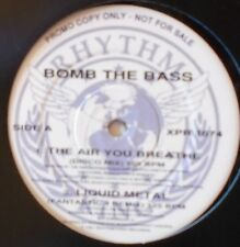 """BOMB THE BASS ~ The Air You Breathe ~ 12"""" Single PROMO"""