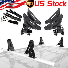 Kayak Carrier Roof Rack Universal Cross Bar Saddles Cradle Canoe Boat Sail Board