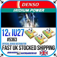 12 x DENSO IRIDIUM PLUGS *SALE* IU27 FOR SUZUKI,GSX600F T, V, W, X, Y, K1-K4 600