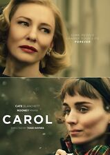 "Carol movie poster (d) Cate Blanchett poster, Rooney Mara poster   11"" x 17"""