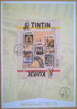 FDS Timbre Belgique Belgïe : BD Tintin Kuifje Mortimer Corentin Cori Bobette