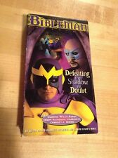 BIBLEMAN ADVENTURE, THE: DEFEATING THE SHADOW OF DOUBT (VHS, 2000)
