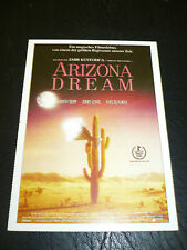 ARIZONA DREAM, film card [Johnny Depp, Jerry Lewis, Faye Dunaway]