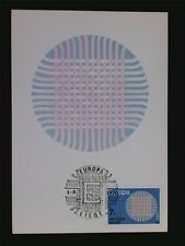 BELGIEN MK 1970 EUROPA CEPT MAXIMUMKARTE CARTE MAXIMUM CARD MC CM c6666