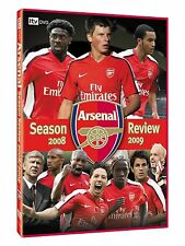 New! Arsenal End Of Season Review 2008/2009 DVD:0/All Football Sports 08/09
