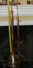 "30"" Copper Column, Alcohol Moonshine Ethanol Still E-85 Reflux with adapter"
