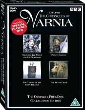 The Chronicles Of Narnia The Complete (4 Disc) Collection (2005) UK REGION 2 DVD