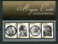 Ghana 2015 MNH Magna Carta Octocentenary 4v M/S King John of England Seal
