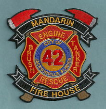 JACKSONVILLE FIRE DEPARTMENT FLORIDA STATION 42 COMPANY PATCH