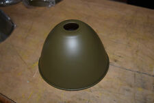 Olive Drab lamp shade / reflector Rhimco 13217E7489-  case of 32 -  new in box
