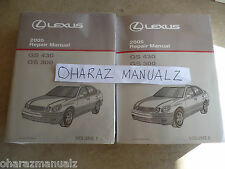2005 LEXUS GS430 GS300 Service Repair Manual Manuals OEM  **SEALED**