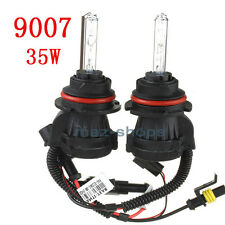 2Pcs 9007 HB5 10000K AC Bi-Xenon Hi Lo HID Dual Beam Replacement Bulbs 35W