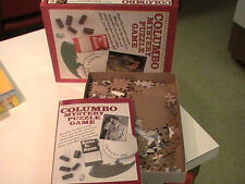 VINTAGE 1989 COLUMBO MYSTERY PUZZLE GAME 550 pc. COMPLETE