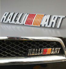 Metal Auto Refitting Hood Front Grille Grilles Badge Emblem For RALLI ART Racing