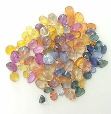 SAPPHIRE MIXED COLOR AND SIZES 10 CARATS FOR $23.99