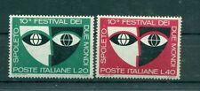 Italia Repubblica 1967 - B.1144/45 - Festival di Spoleto
