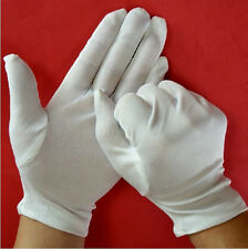 Terrific Cotton Blend White Terylene Micro Dotted Grip Fine Handling Gloves SEAU