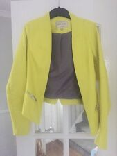 River Island Leather Jacket Size 10