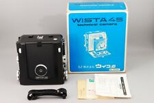 RARE!!【TOP MINT IN BOX】WISTA 45D 4×5 Large Format Film camera from japan 297