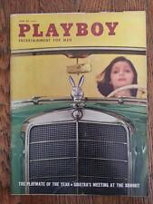 Playboy magazine June 1960 Delores Wells Ellen Stratton Frank Sinatra  VERY GOOD
