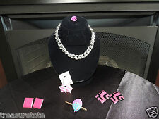 6 Piece Jewelry Lot of Earrings, Brooch, Necklace, Pendant from Estate Auction