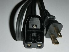 """Power Cord for Rival Indoor Crock Smokeless Grill Model 5750 only (2pin) 36"""""""