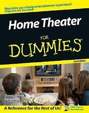 Home Theater for Dummies by Pat Hurley and Danny Briere (2006, Paperback,...