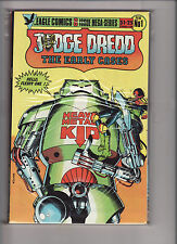 JUDGE DREDD THE EARLY CASES #1-6 FULL SET